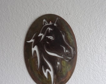 Horse - Metal Horse - Wall Hanging - Home Decor