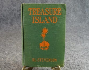 Treasure Island By R. L. Stevenson C. 1940s