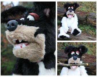Professional Handbuilt DOG style puppet!