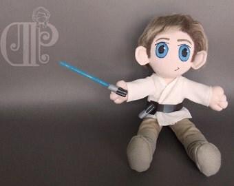 Luke Skywalker Star Wars Plush Doll Plushie Toy