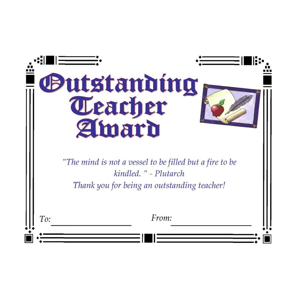 Outstanding educator essay