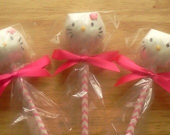 Hello Kitty Cake Pops, 1 Dozen