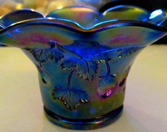 Blue Bud Vase (Strawberry)