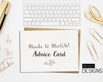 Made to Match - Advice Card