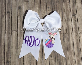 Easter Bow, Monogrammed