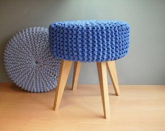 pouf etsy de. Black Bedroom Furniture Sets. Home Design Ideas