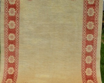 178 by 127 CM Vintage Simple Border French Rug