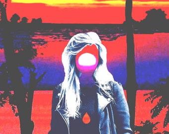 Sunset Tears Print