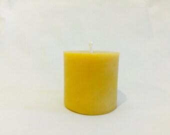 Beeswax Candle Pillar