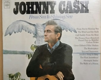 Lp33 Johnny Cash sea from shining sea