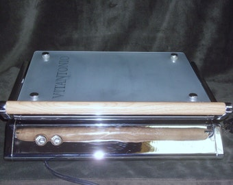 Vitantonio Glass Series Panini Press, Sandwich Maker, Stainless Steel Sandwich Maker, Vintage Vitantonio Press, Gorgeous Kitchen Tool !