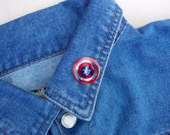 Captain America Shield - Brooch - Marvel