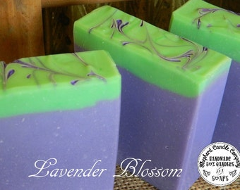 Lavender soap, Artisan Soap, Handmade soap, Cold Process Soap
