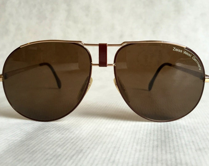 Carl Zeiss Z 9385 Vintage Sunglasses Made in West Germany New Old Stock