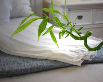 White Bamboo Sheets - King Size - 100% Bamboo, Softest Sheets in the World by Fiber Element™