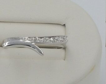 Diamond ring .05 carat total weight 10KT white gold