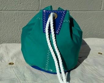 Sunbrella Drawstring Bucket Bag