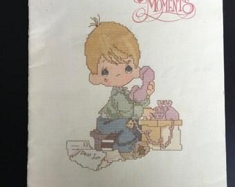 Precious Moments cross stitch paternbook - Dear Jon