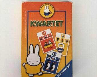 Nijntje / Miffy (kwartet) go fish with big cards