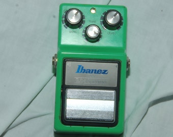 vintage 1982 ibanez tube screamer pedal not working as should near mint as is