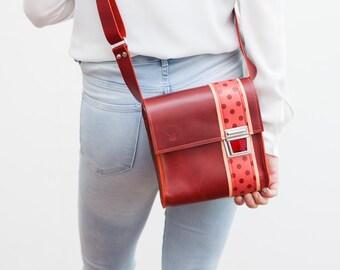 Small leather bag of Haeute, unisex, XS