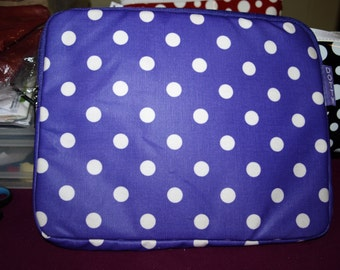 Purple Dotty iPod Case