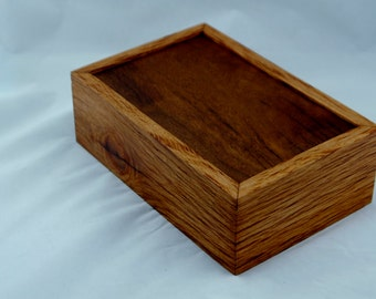 Australian timber inlay wooden box