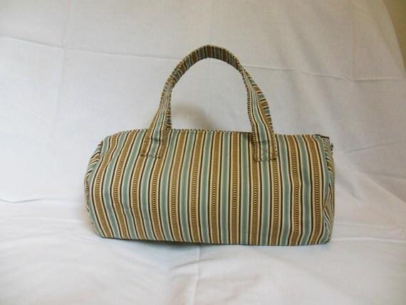 Mini Round Tote Bag