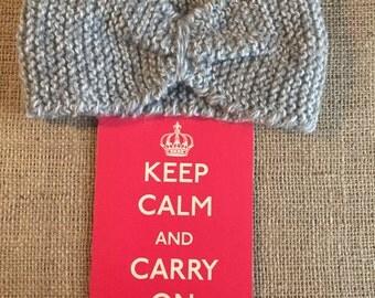 "Handmade Knitted Headband "" The Nicole""  N0001"