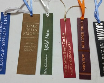 Bookspine bookmark collection 5