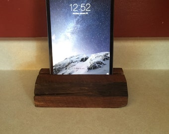 Black Walnut iPad Stand