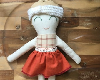 Cloth Doll - handmade toy for children