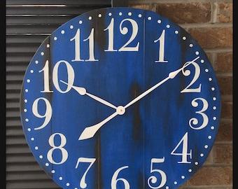 Large Wall Clocks, Rustic Decor, Decorative Wall Clocks, Large Wall Clock, Rustic Wall Clocks,  Decorative Wall Clock, Custom Wall Clocks