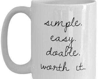 Simplicity Ceramic Coffee Mug