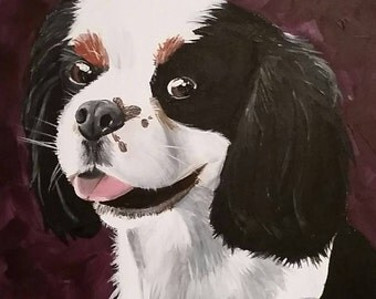 16x20 Custom Pet Painting