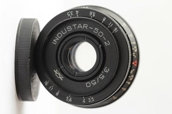 Russian Lens Industar-50-2, 50mm 3.5 Pancake Camera - M42 Mount INDU星50 И79113969