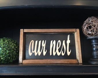 Our nest. Add a touch of charm to your home..