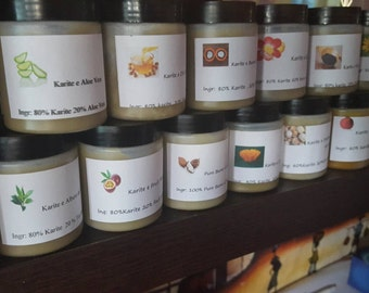 Shea butter ... Pure and natural oils