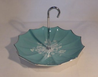 Stylecraft Midwinter umbrella cake plate - original from the 1960s