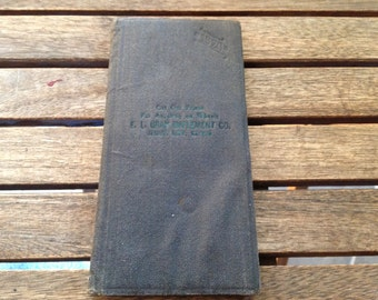 1920 Combination Diary, Memorandum, and Compendium of Useful Information
