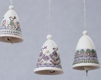 White ceramic bell