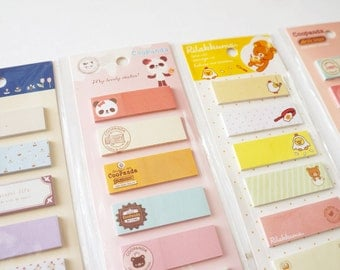 Kawaii Page Flags • Sticky notes • Planner page flags