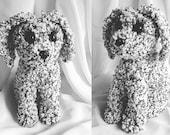 Dog stuffed dog animal Amigurumi dog plushie crochet stuffed dog stuffed toy handmade puppy