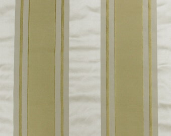 SCALAMANDRE FEDERAL STRIPES Reproduction French Empire Silk Fabric 10 Yards Special