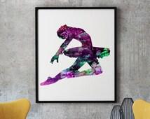 Instant Download Print - Digital Wall Poster - Watercolor Art Print - Home Decor