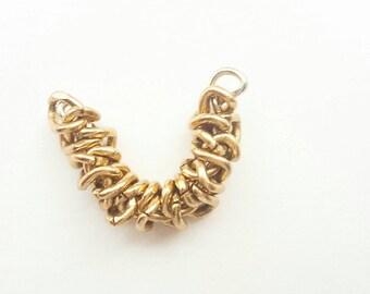 Faux Septum Ring - Gold Ring - Body Jewellery - Fake Piercings -Septum Clicker - nasal ring -