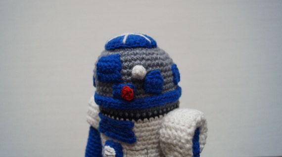 Amigurumi R2d2 Pattern : R2D2 Amigurumi Crochet Pattern PDF, Crochet Amigurumi ...