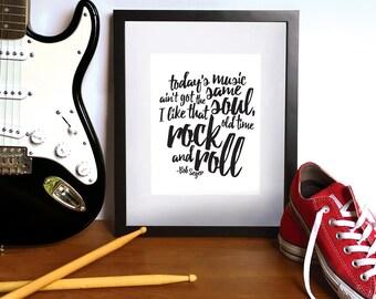 Old Time Rock and Roll lyrics - Bob Seger