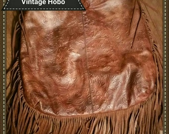 Vintage Leather Hobo