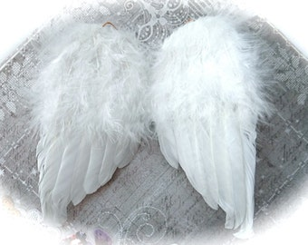 White Feather Wings Baby Angel Wings Craft Supplies Floral Supplies FL-129